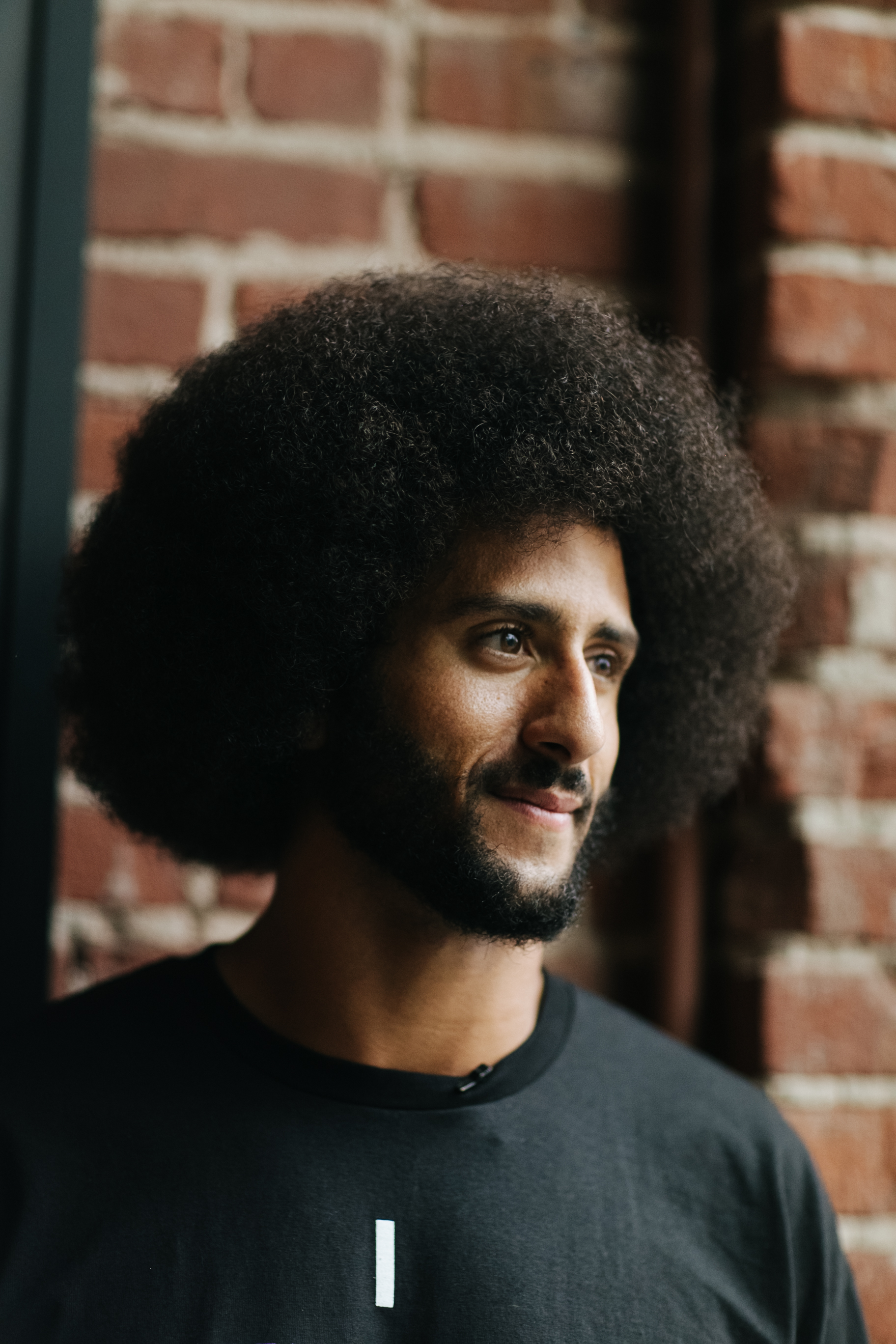 Colin Kaepernick poses for a photo at the HUB Oakland on October 29, 2016 in Oakland, CA. Kaepernick led a discussion with young African American males about their rights, especially when dealing with police officers.