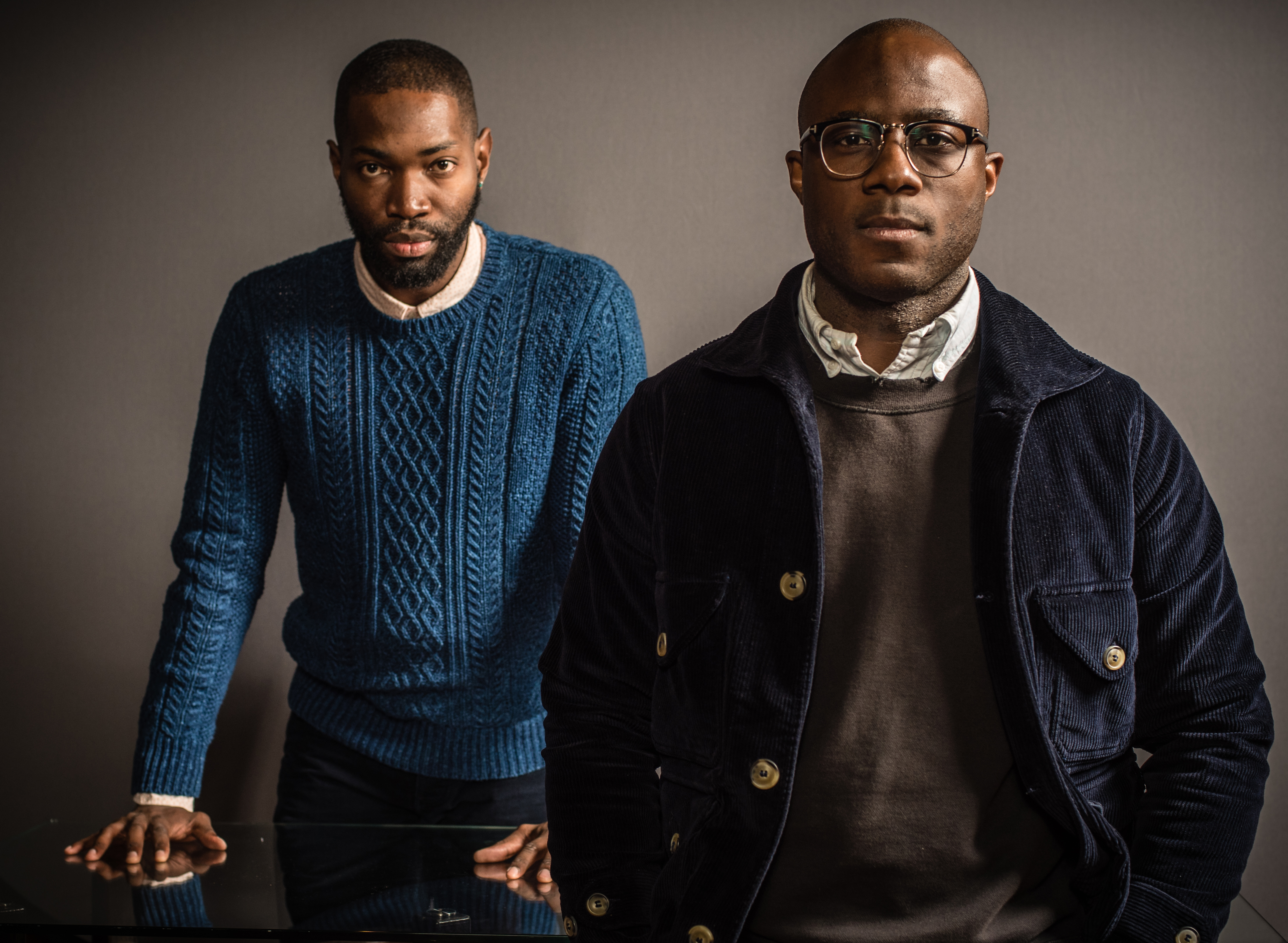 Director Barry Jenkins (right) and writer, Tarrell Alvin McCraney are receiving Oscar buzz for the coming of age movie, Moonlight.