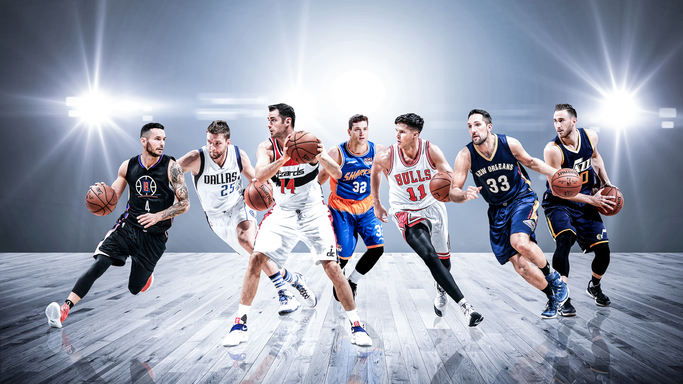 Where are all the white American NBA players?