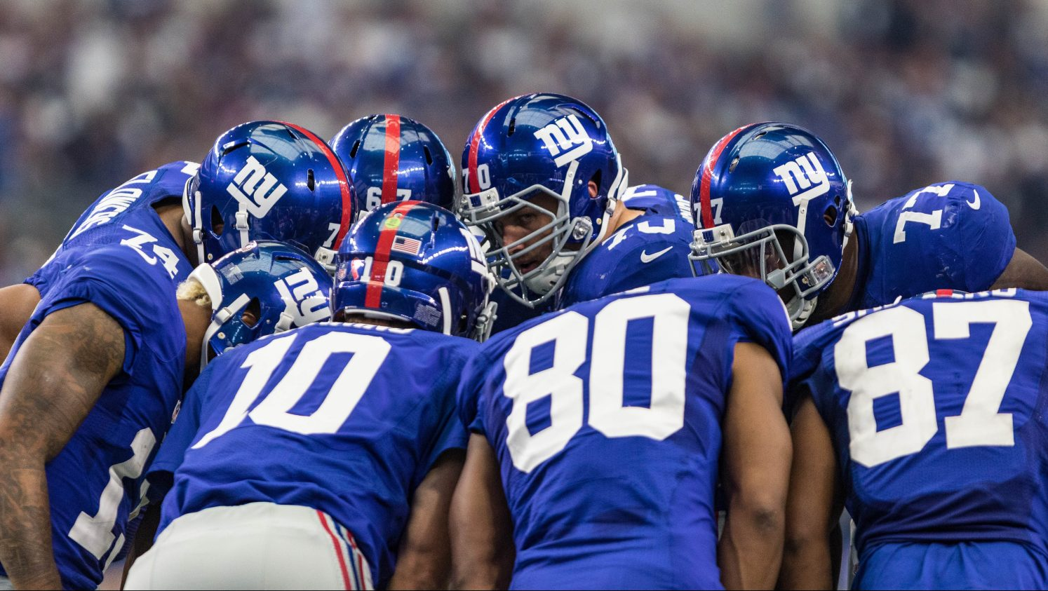 NFL: SEP 11 Giants at Cowboys
