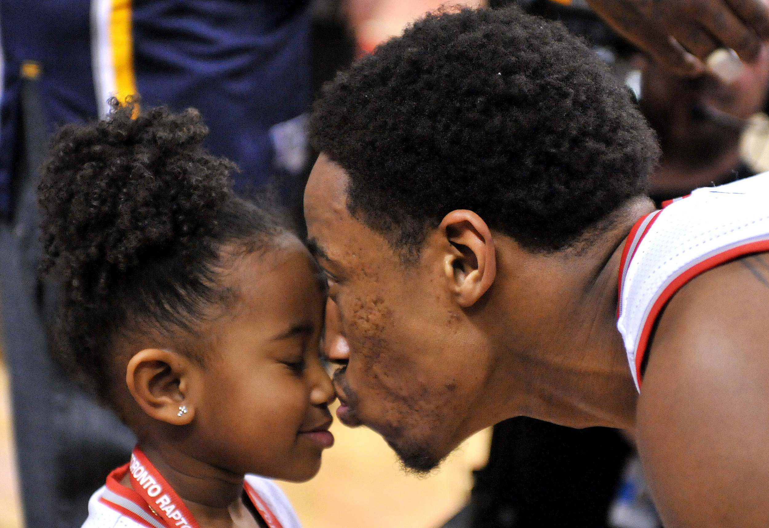 Picture of DeMar  DeRozan Daughter, called Diar