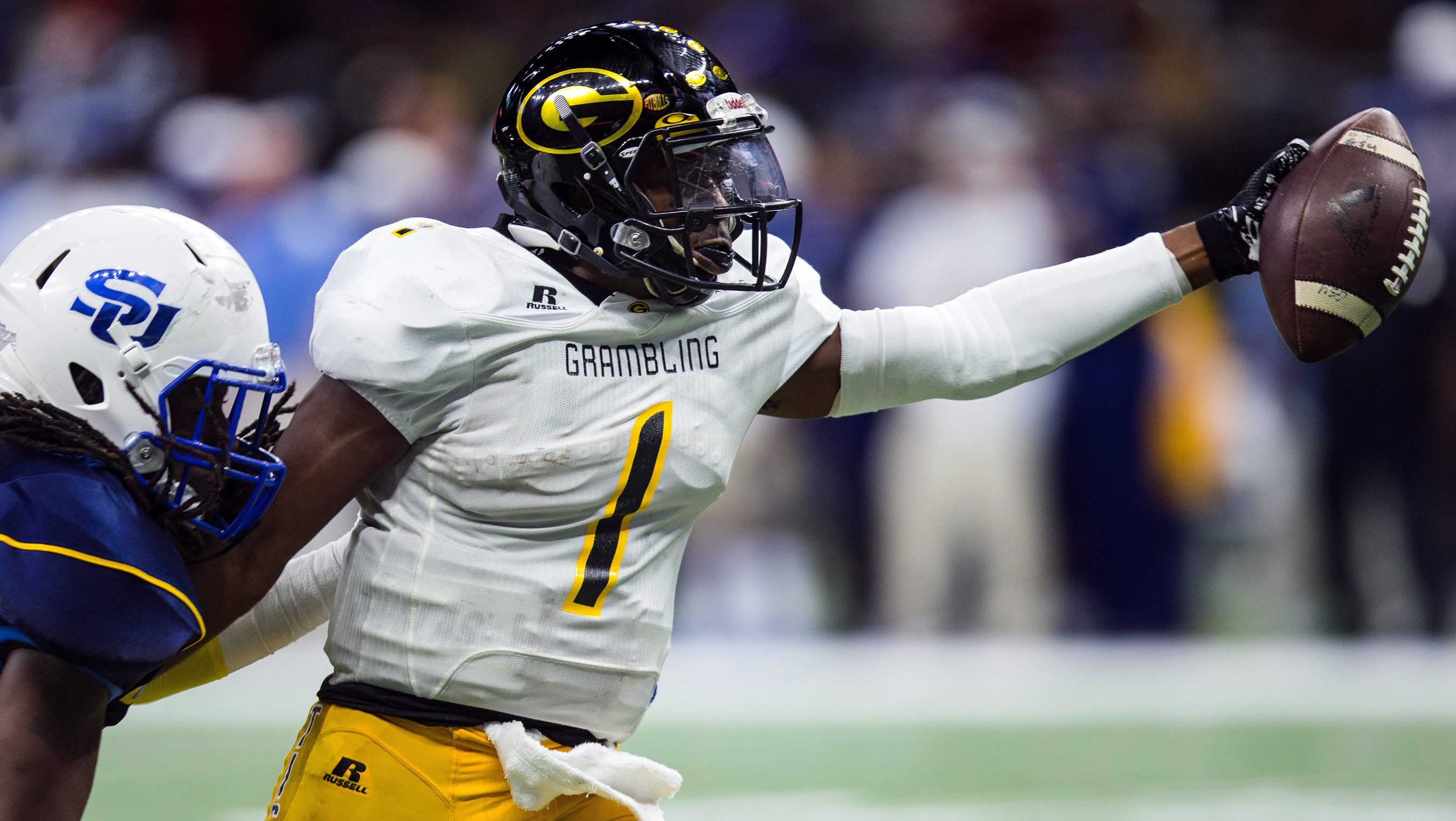 Grambling State pours on the offense in Bayou Classic ...