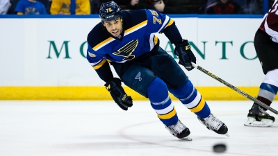 NHL: MAR 29 Avalanche at Blues