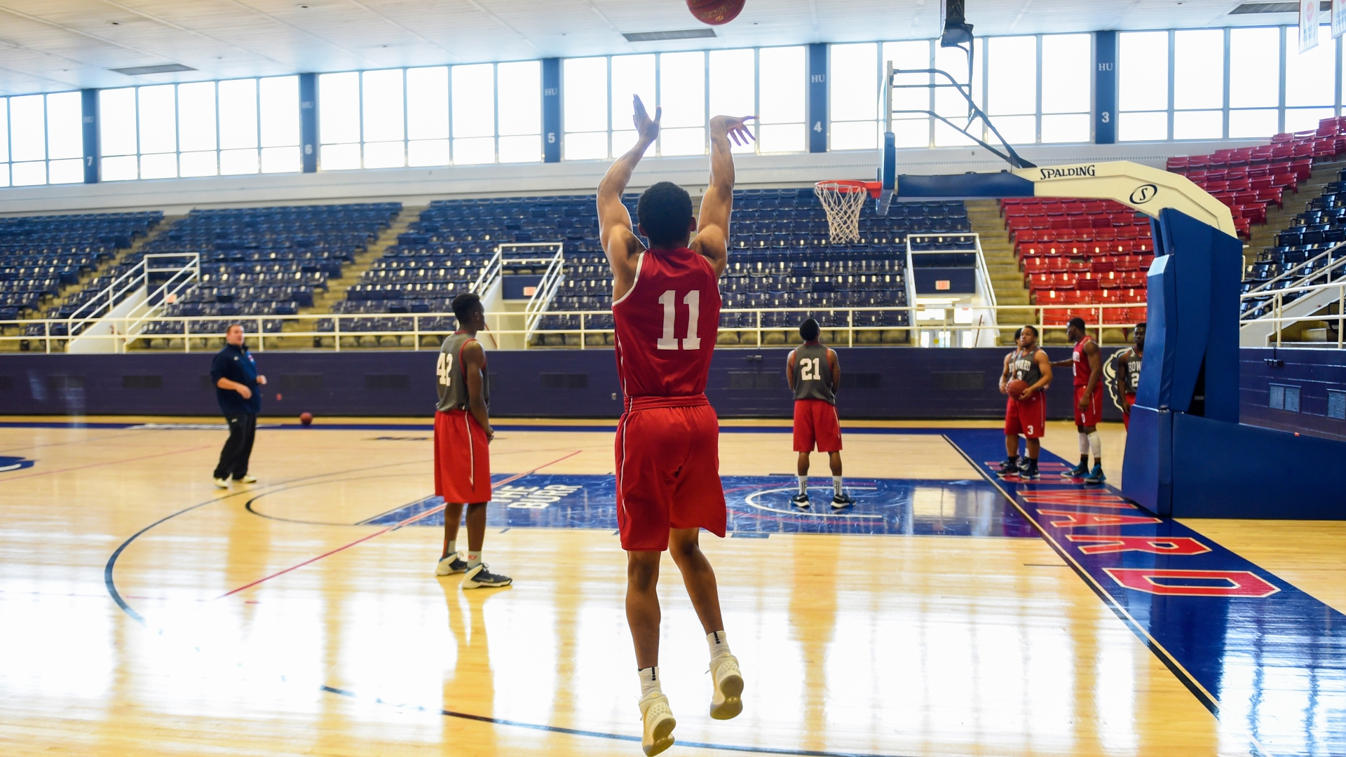 Feature on Howard basketball player #11 James Daniel, who is currently the leading scorer in Division I college basketball.