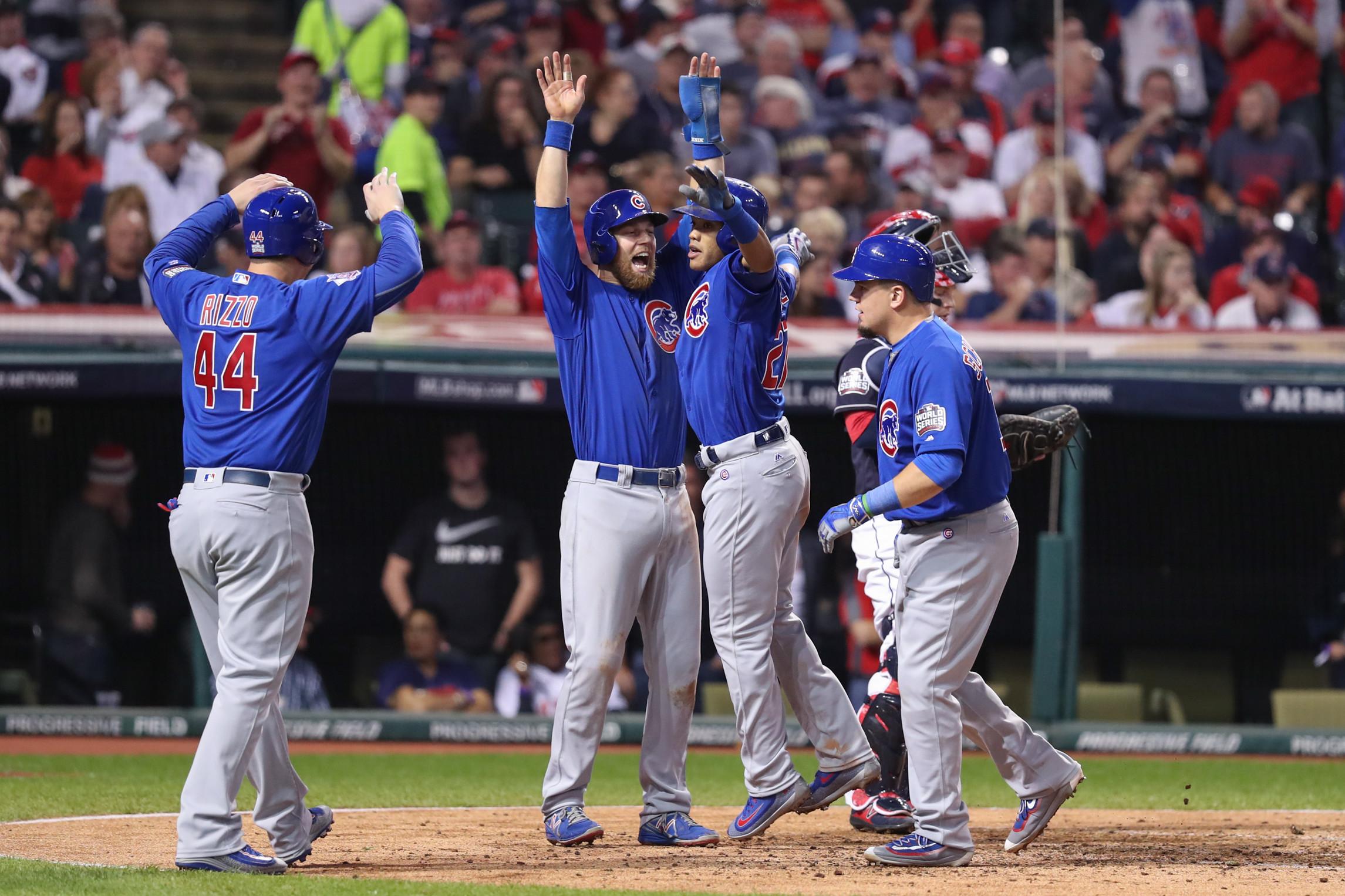MLB: NOV 01 World Series – Game 6 – Cubs at Indians