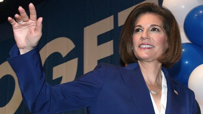 Democratic Senate Candidate Catherine Cortez Masto Appears At Nevada's Election Night Event