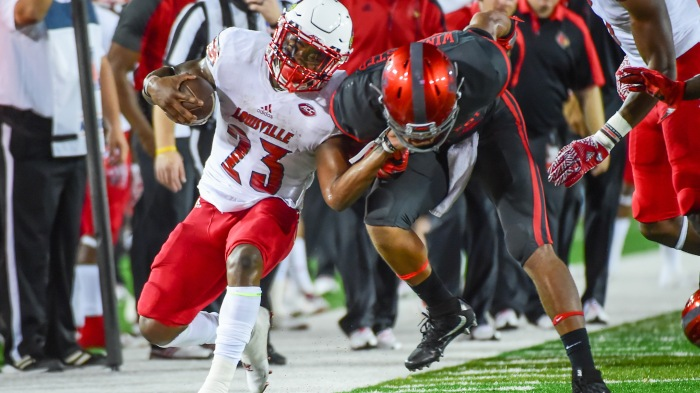 NCAA FOOTBALL: NOV 17 Louisville at Houston