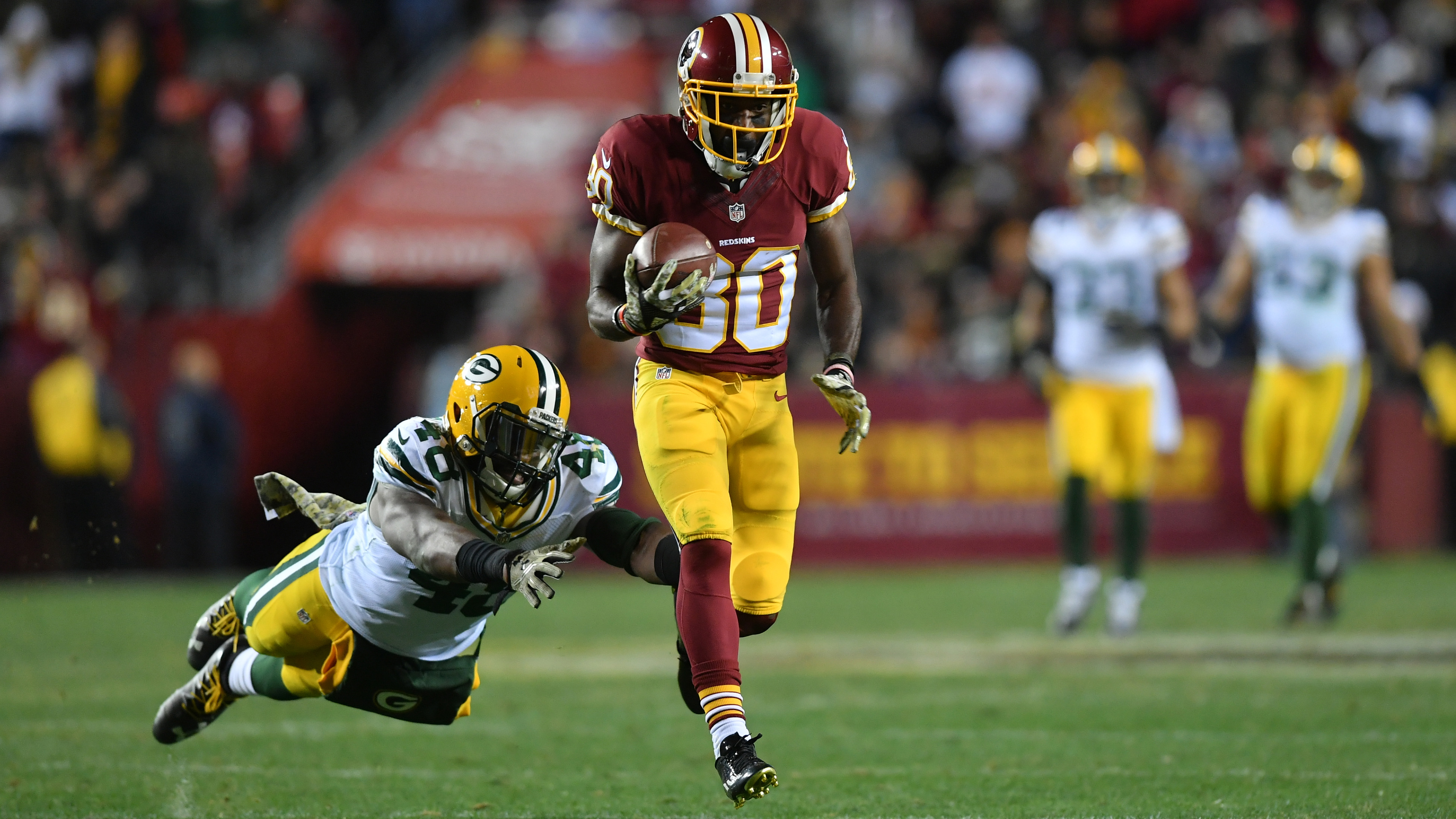 NFL – Greenbay Packers at Washington Redskins
