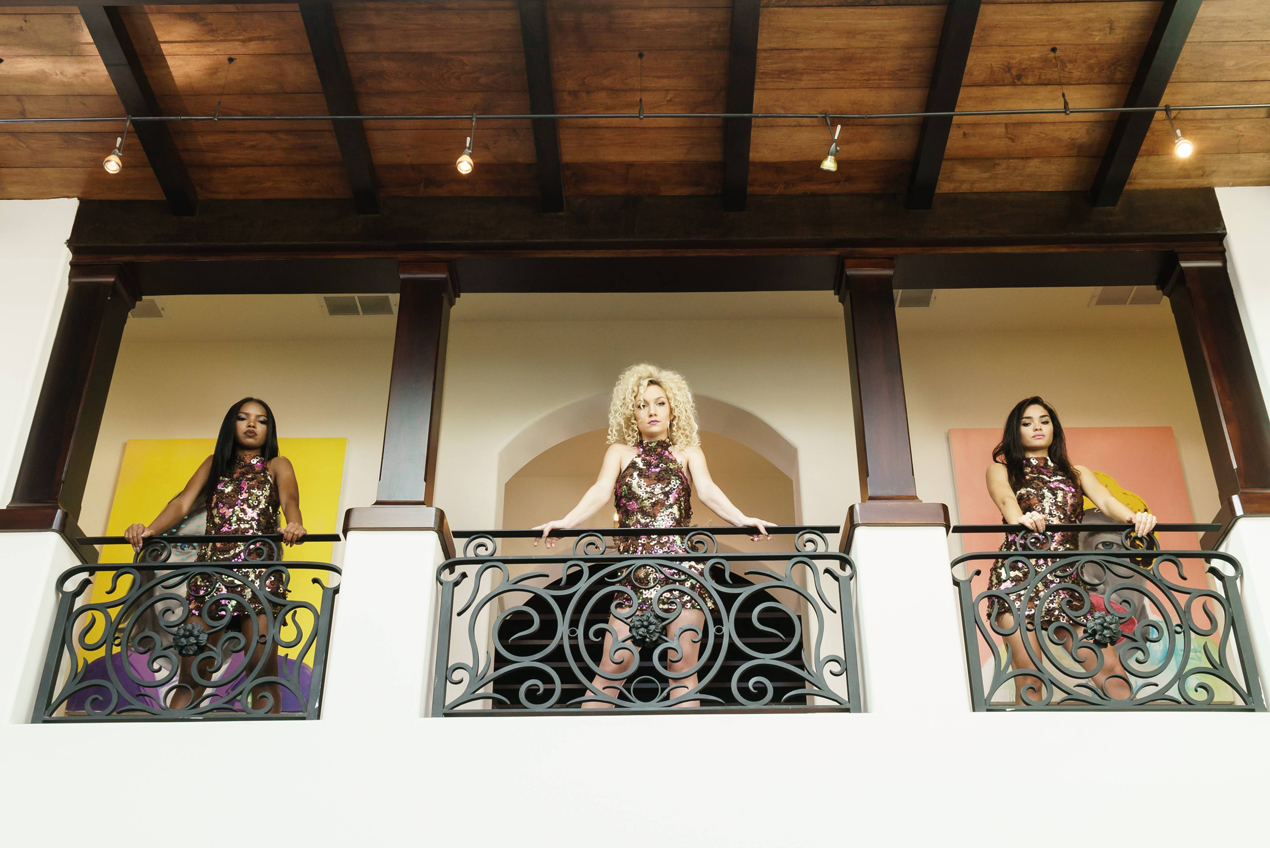 STAR: Pictured L-R: Ryan Destiny, Jude Demorest and Brittany O'Grady in the special premiere of STAR airing Wednesday, Dec. 14.