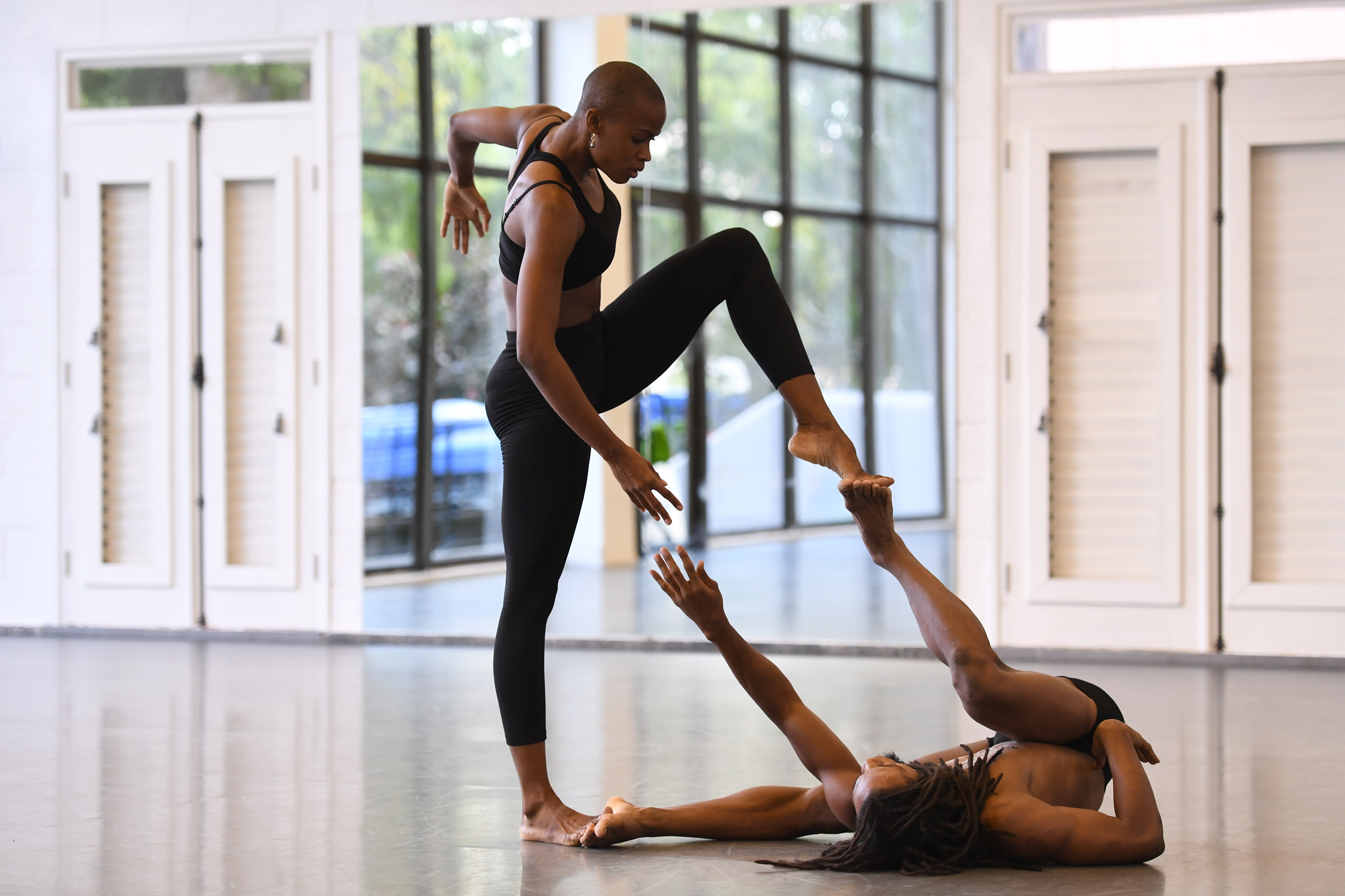 Dancers at the Lizt Alfonso Dance Cuba perform for Misty Copeland.