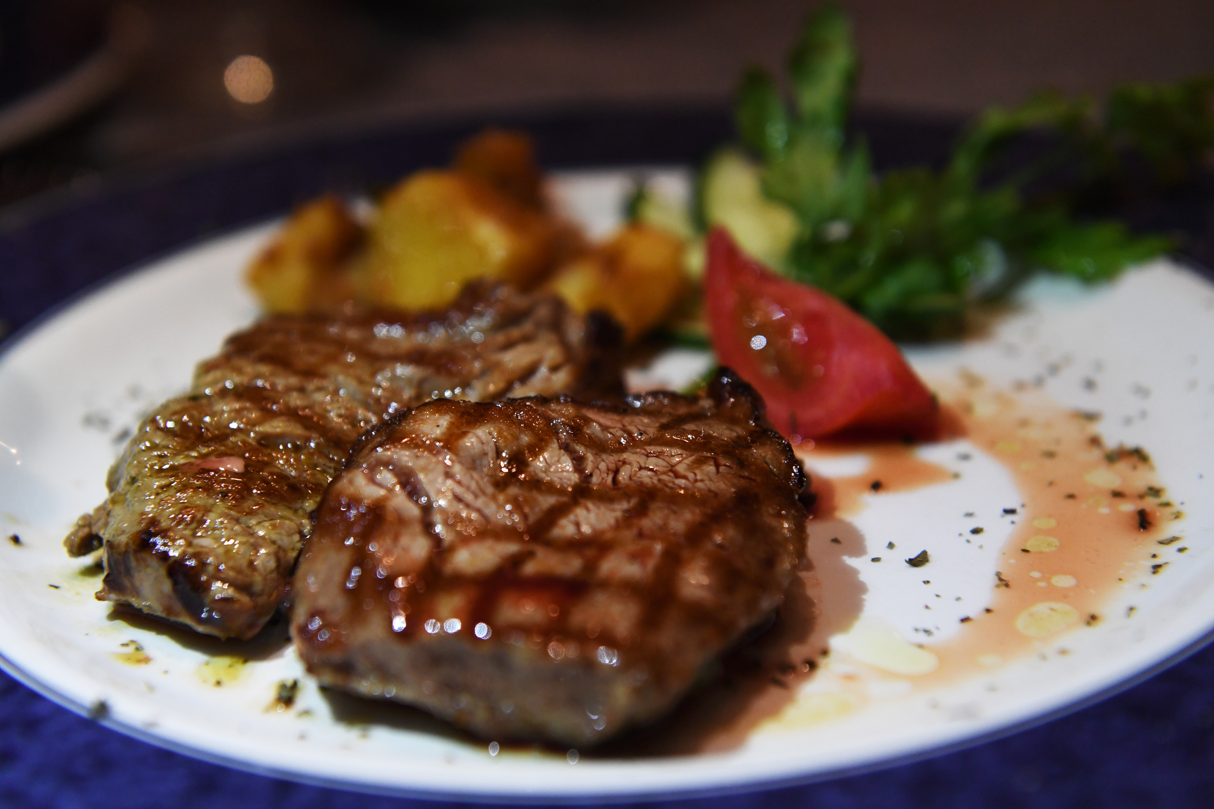 The steak at San Cristobal Paladar.