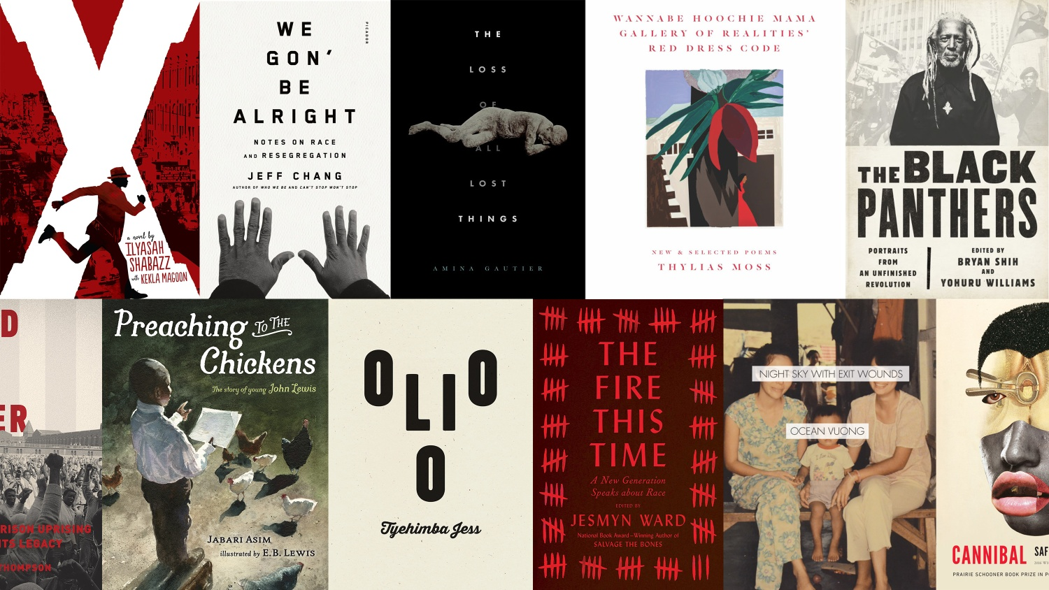 Compilation of books from this list