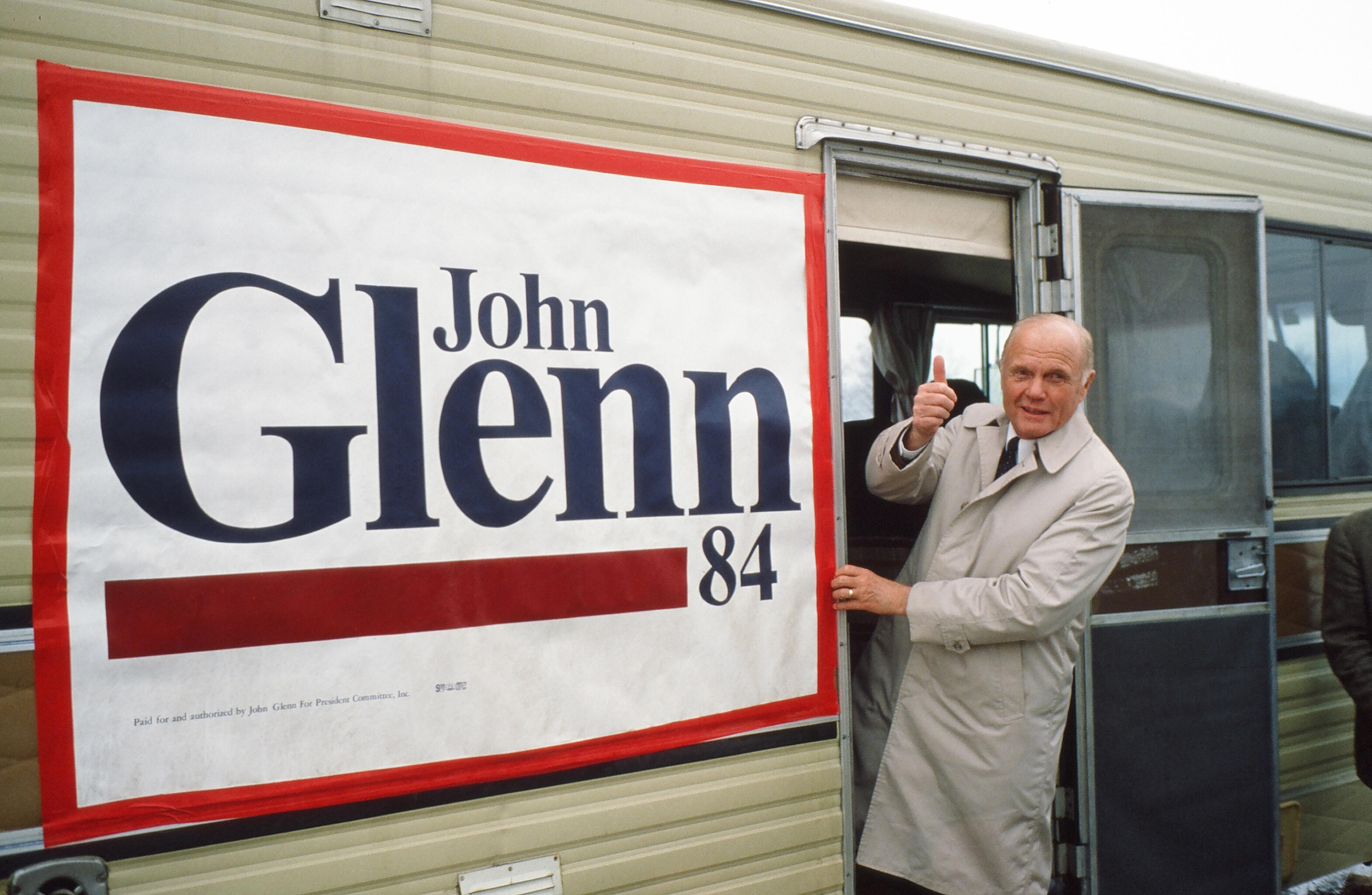 John Glenn Campaigns