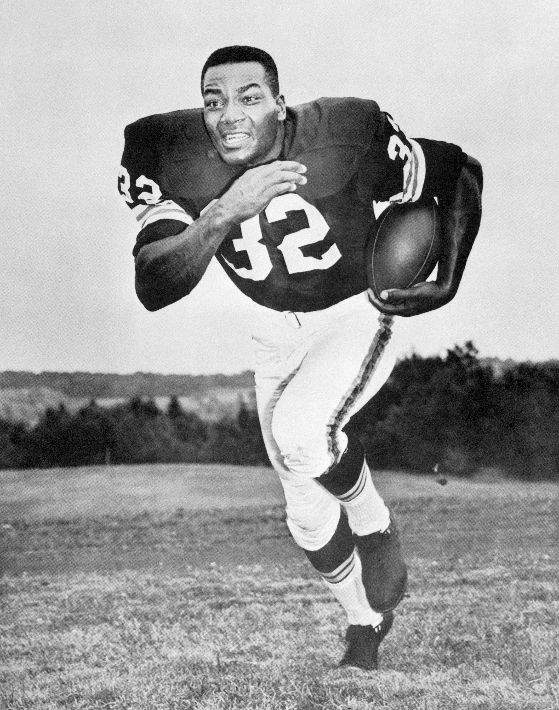 Jimmy Brown, Cleveland Browns football in September, 1965.