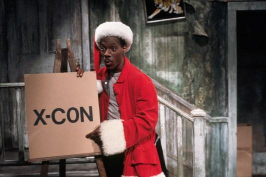 Eddie Murphy in Santa Costume