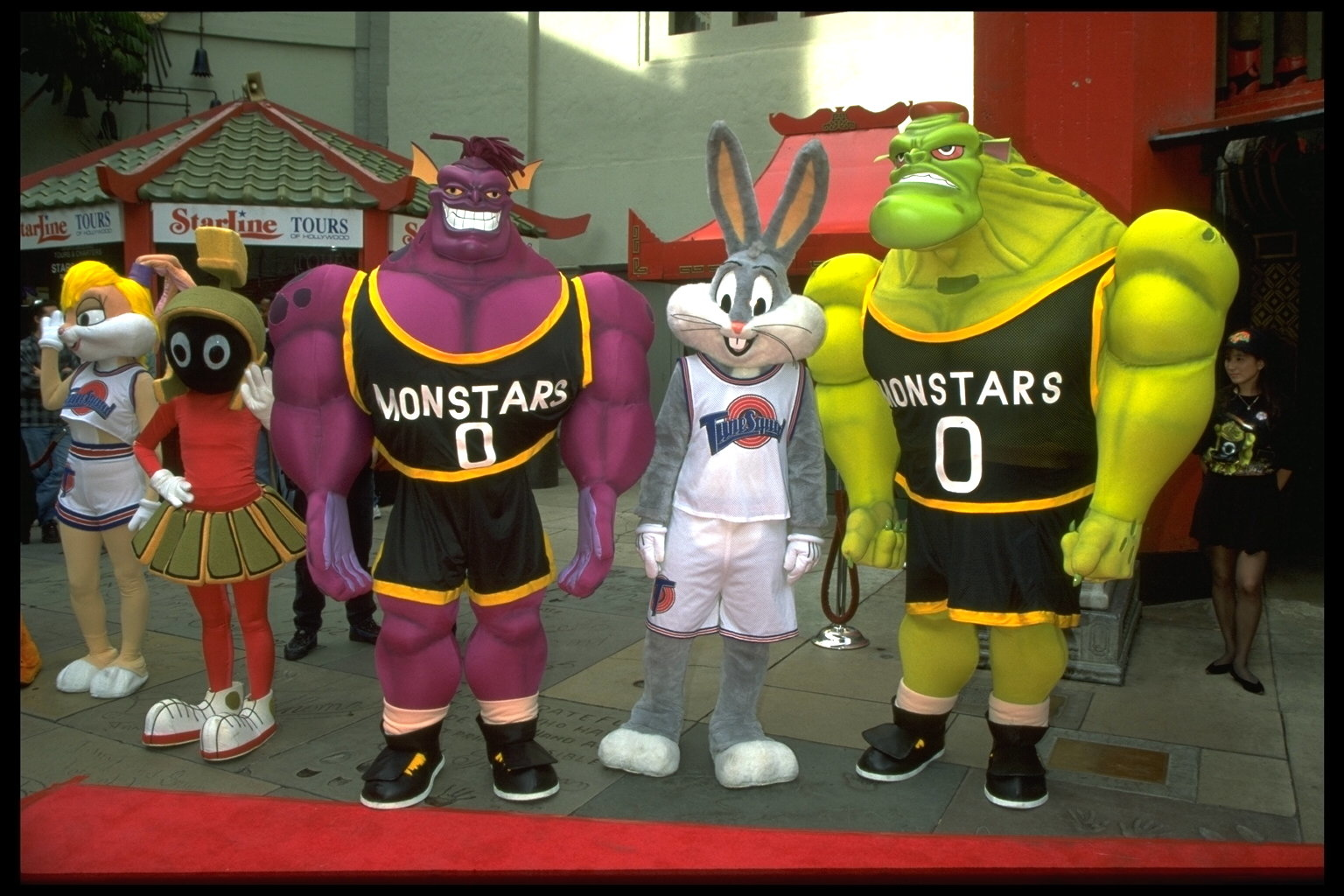 HOLLYWOOD FILM PREMIERE: 'SPACE JAM'