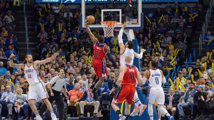 NBA: NOV 30 Wizards at Thunder