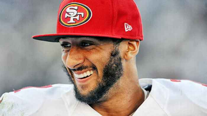 "The parents of Colin Kaepernick told The Undefeated their son is ""carrying  a heavy load and following a difficult path that he truly believes in 42bd0282afef"