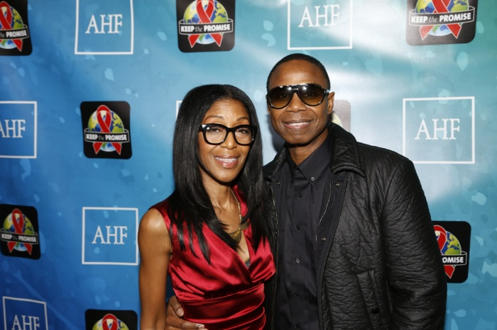 (L-R: Robi Reed & Doug E. Fresh) Keep The Promise Concert For World Aids Day 2016 on Wednesday, November 30, 2016 at the Dolby Theater in Los Angeles, California.