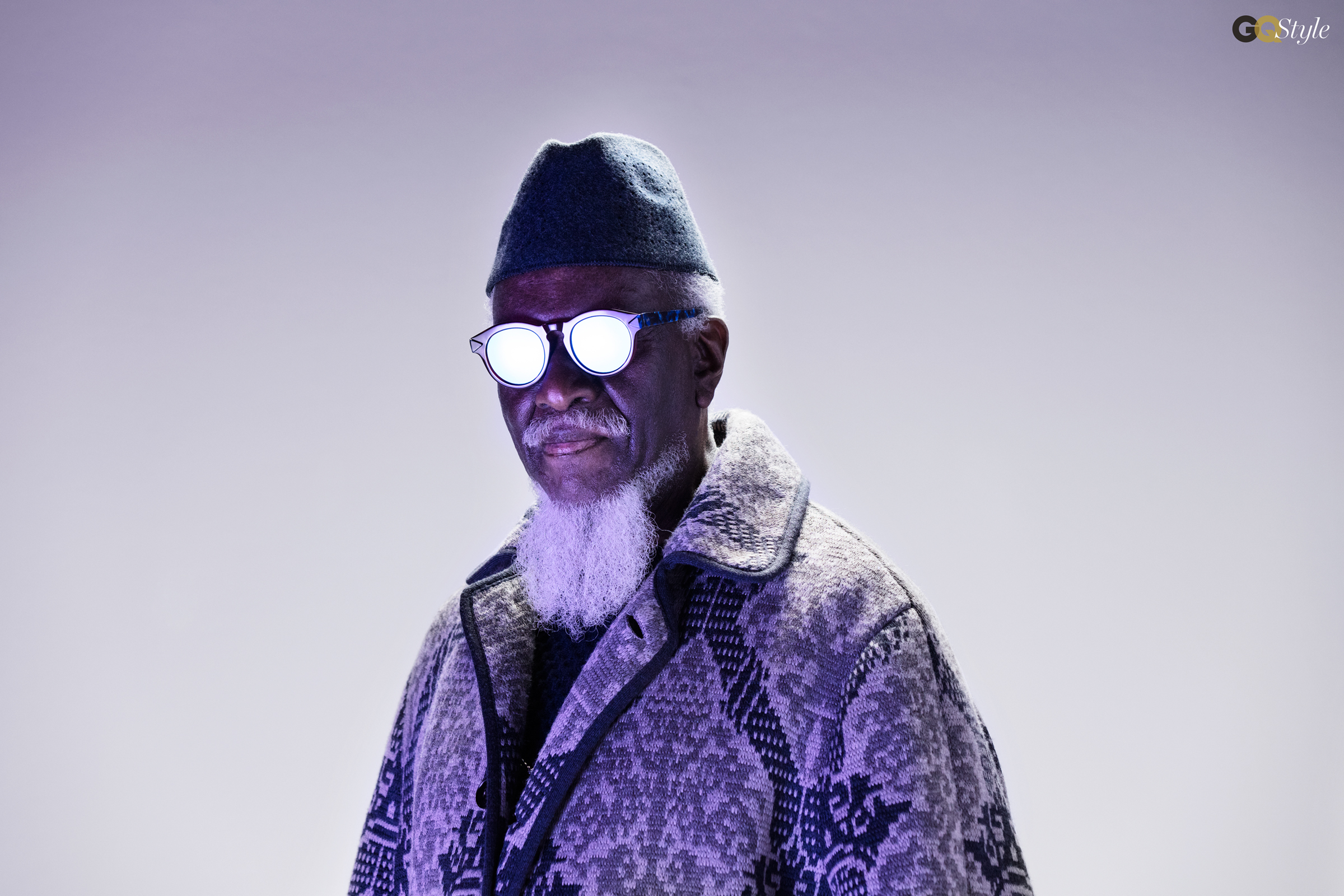 Jazz musician Pharoah Sanders