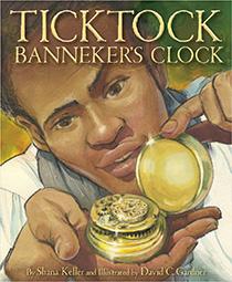 Ticktock Banneker's Clock book cover