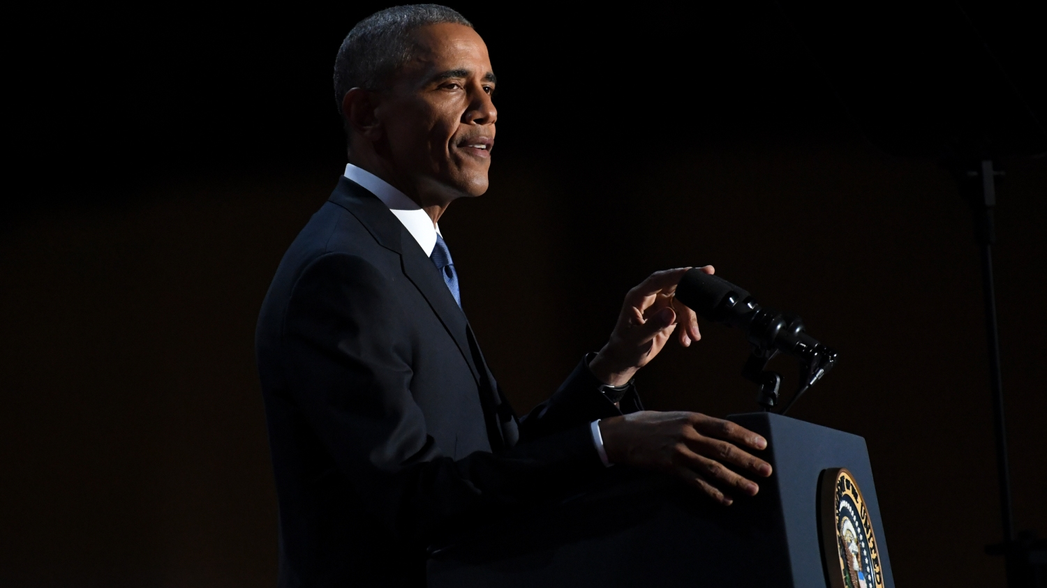 President Obama Delivers Farewell Adderess