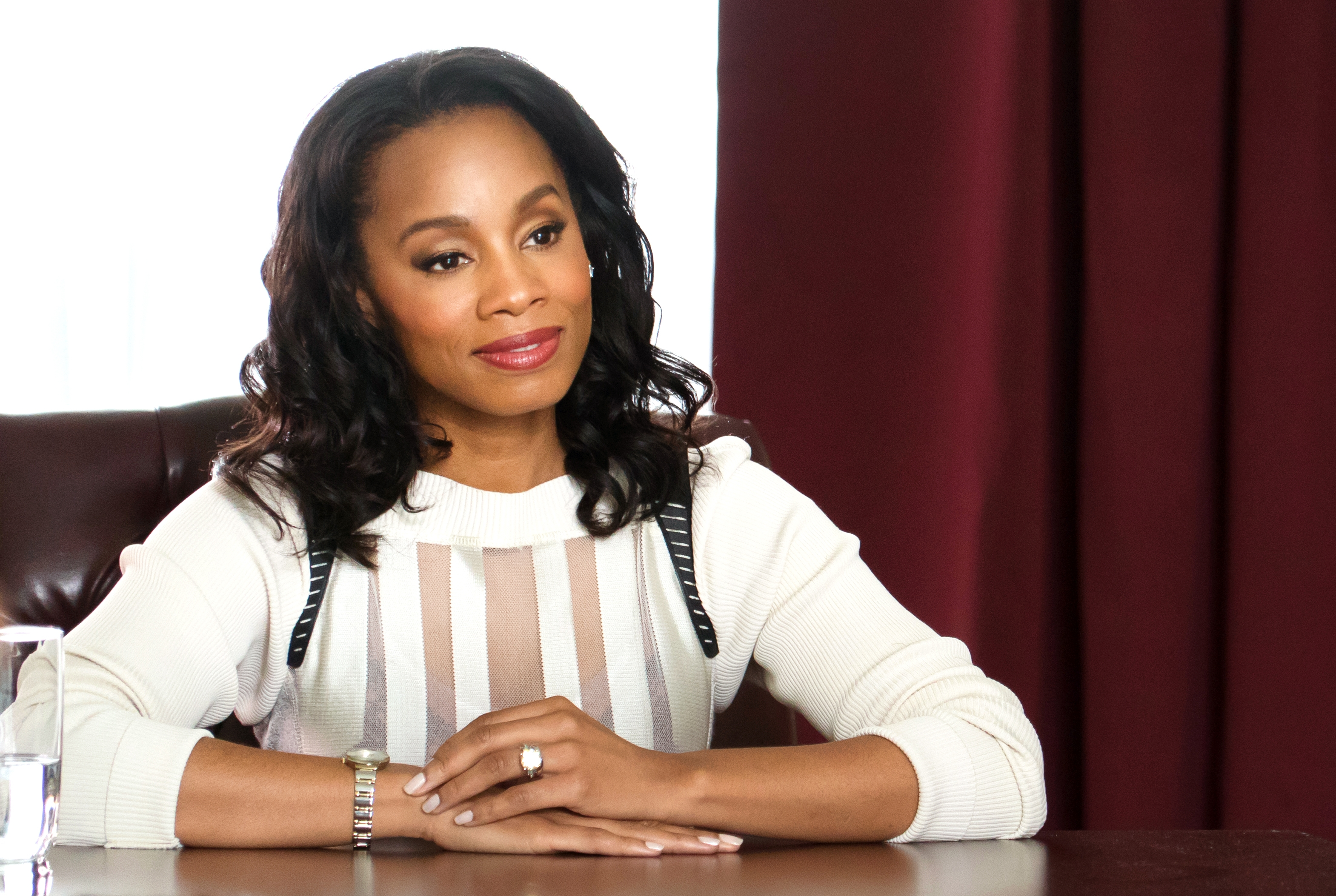 ANIKA NONI ROSE AS DR. EVA FLETCHER