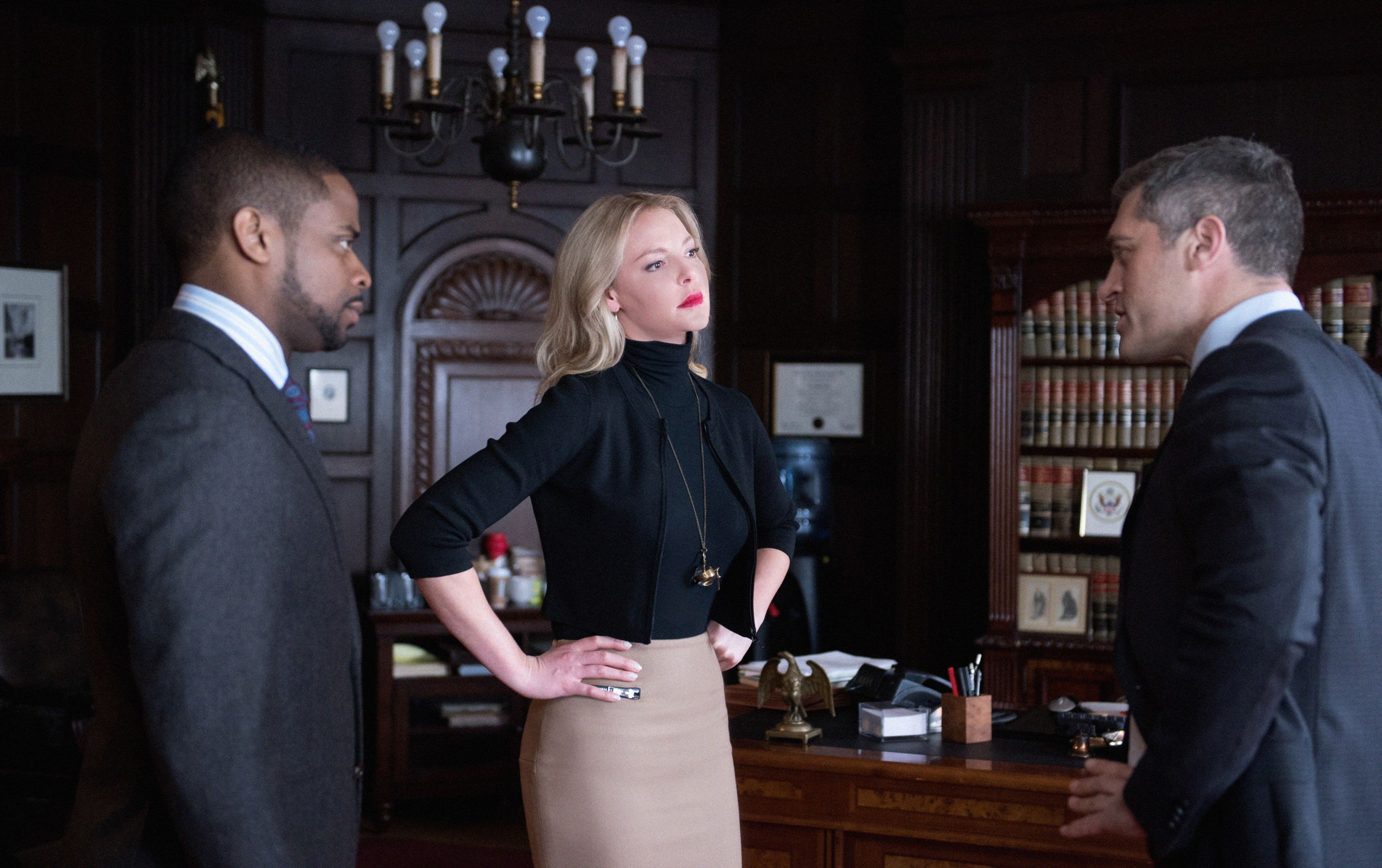 The new drama stars Katherine Heigl as a brilliant attorney at a boutique firm who starts to fall for her charismatic client, an altruistic pediatric surgeon recently accused of murdering his girlfriend 24 years ago.