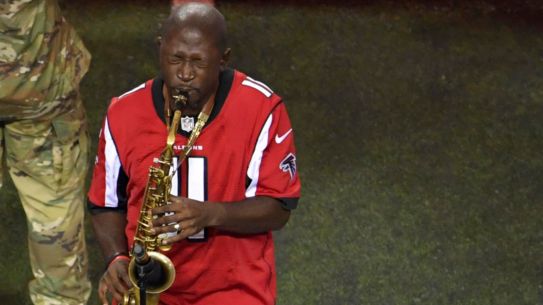 Gay saxophone player