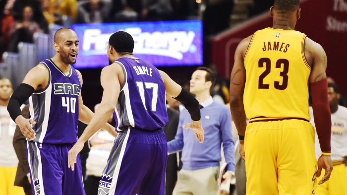 NBA: Sacramento Kings at Cleveland Cavaliers