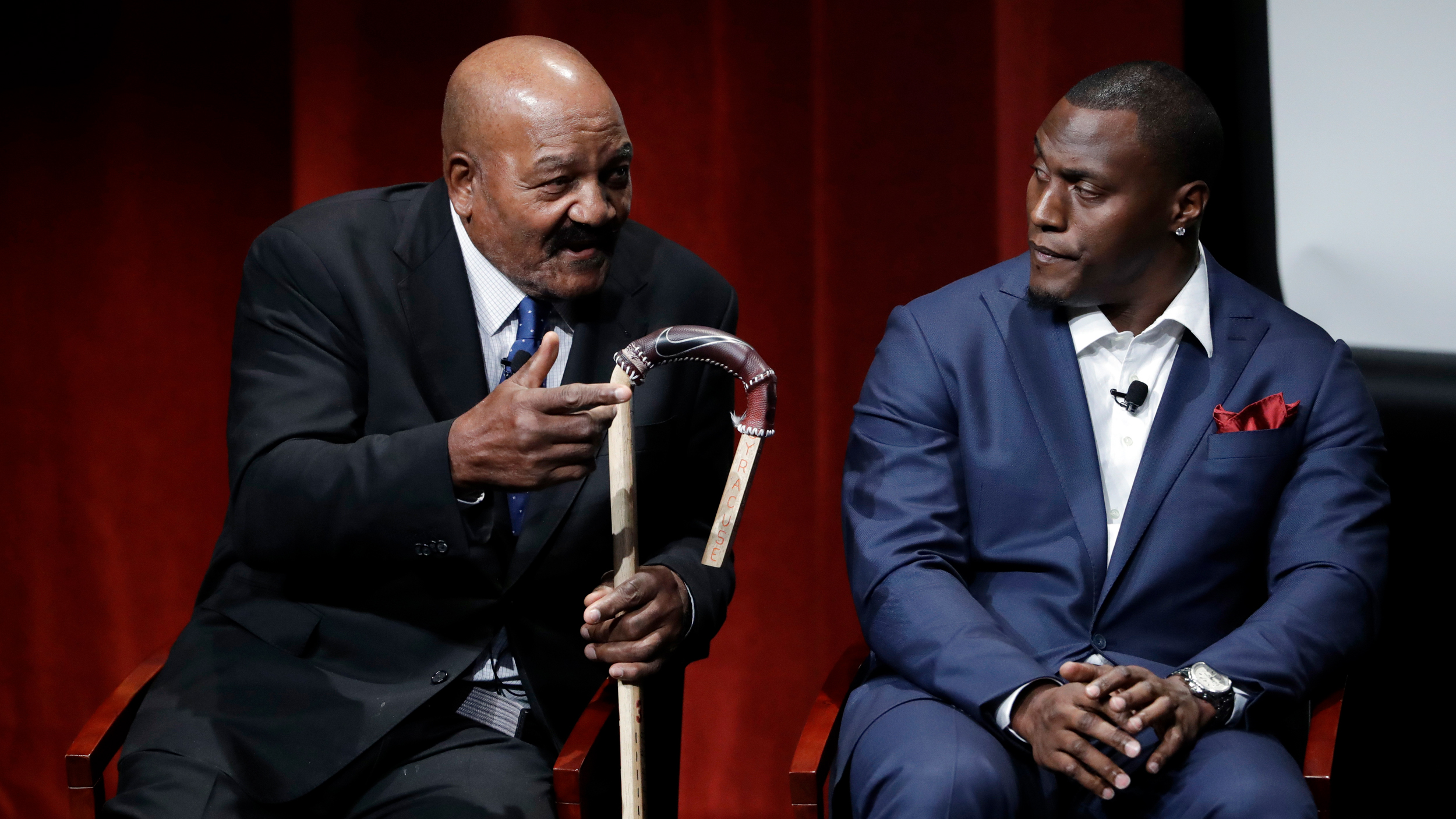 Jim Brown,Takeo Spikes