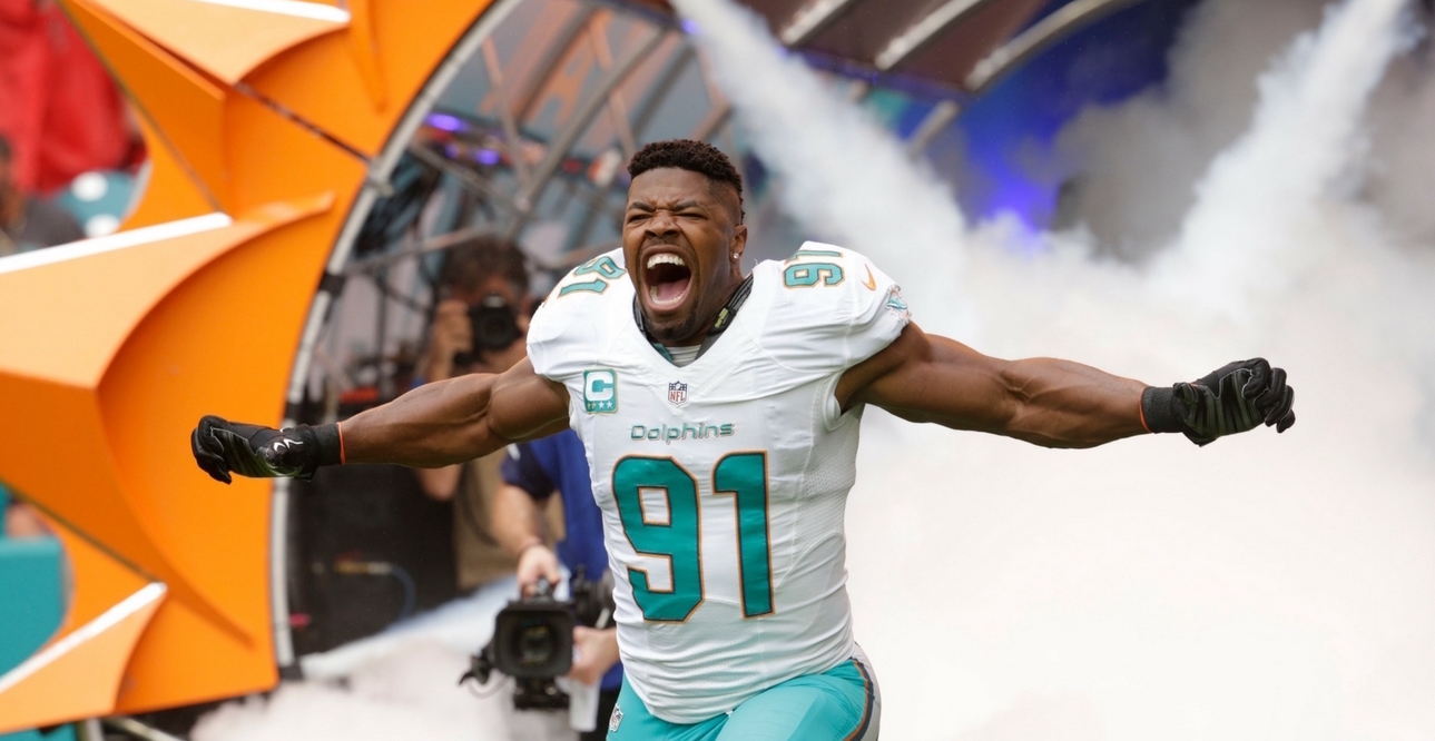 cameron wake game worn jersey