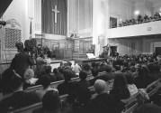 Dr. King Speaks At New York Avenue Presbyterian Church