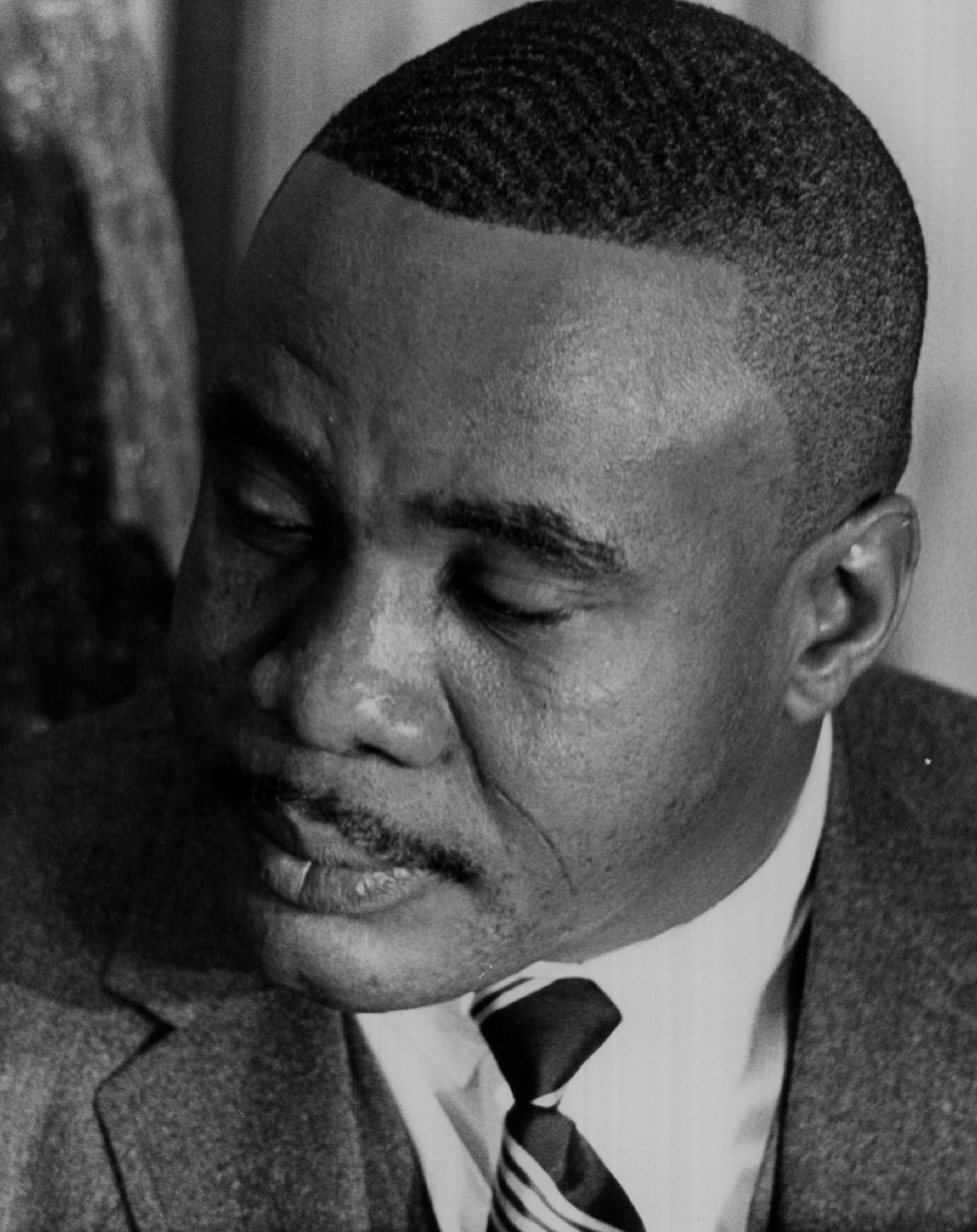 Sonny Liston in Denver, Colorado.