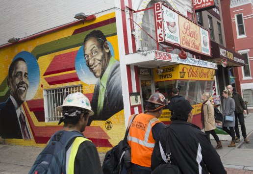 US-ENTERTAINMENT-COSBY-MURAL