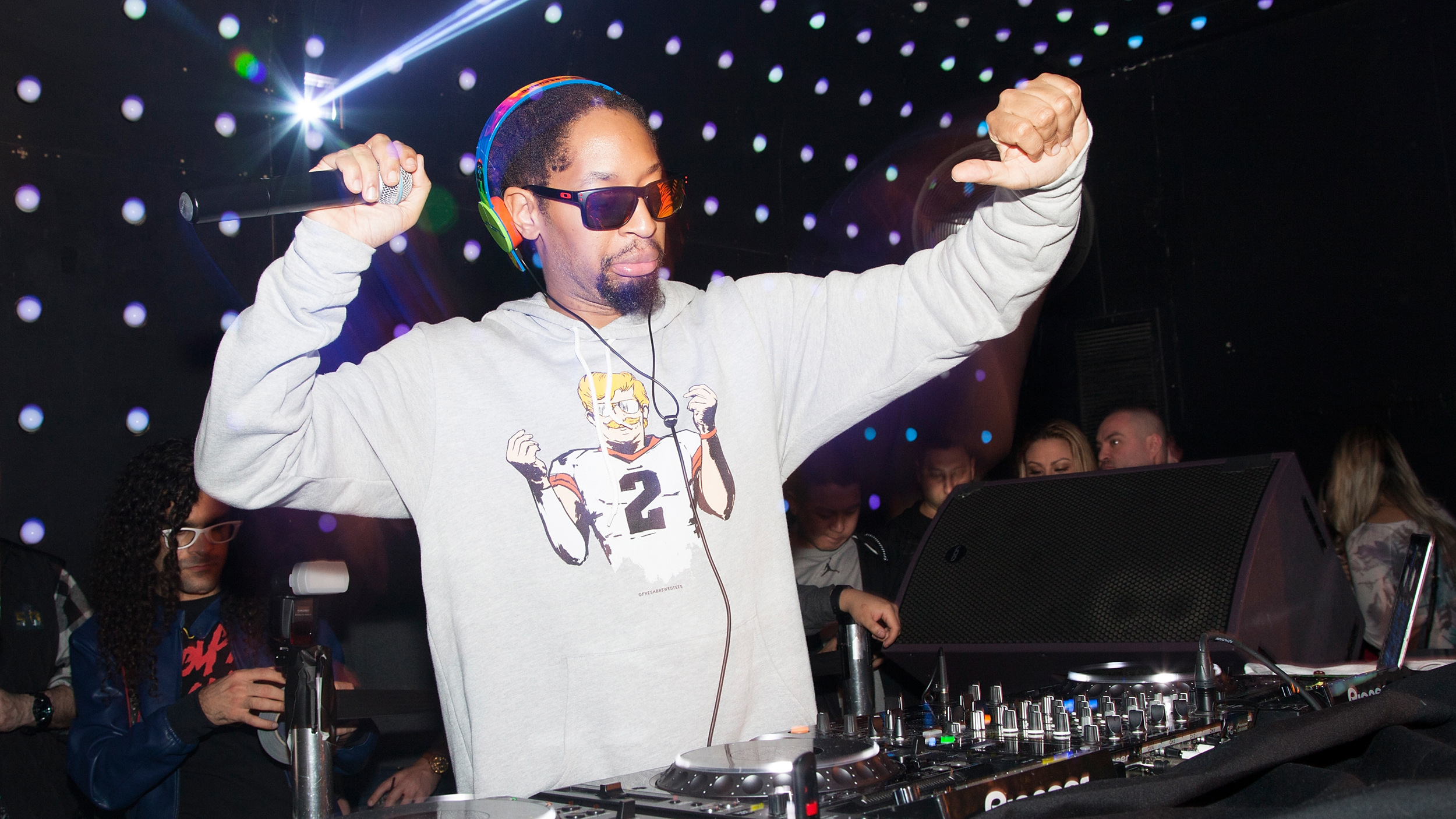 Lil Jon performs a DJ set at Temple Nightclub on February 7, 2016 in San Francisco, California.