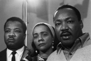 Martin Luther King, Coretta Scott King, and A.D. King