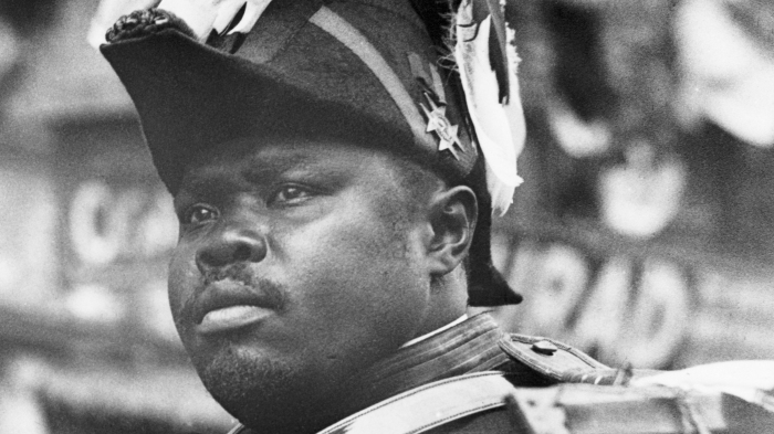 Marcus Garvey Riding In Parade