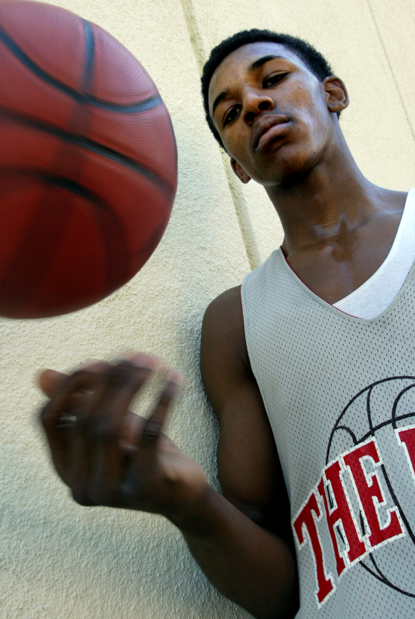 Cleveland High School junior Nick Young is known for his dunking.