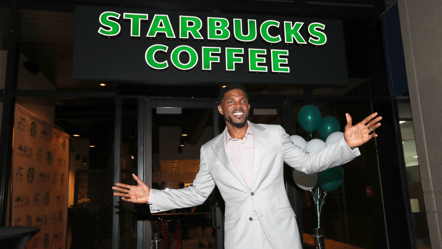 VIP Preview of Starbucks hosted by Udonis Haslem and Ramona Hall