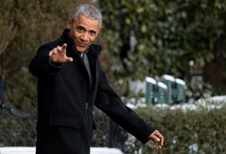 President Obama Departs from the White House to Florida