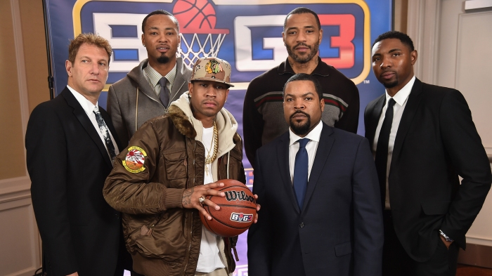 c219fadf3bb Ice Cube brings Allen Iverson out of retirement for some BIG3 basketball