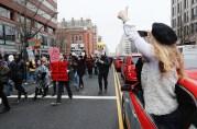 Donald Trump, Inauguration, protestors