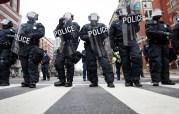 Donald Trump, Inauguration, riot gear