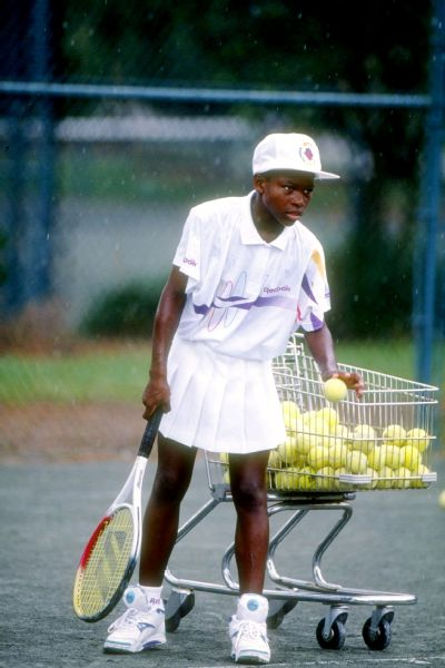 Serena Williams in 1992.