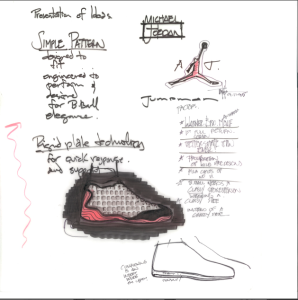 6d1c75e45b84ae The Air Jordan 13 is back — how Tinker Hatfield and the  Black Cat ...