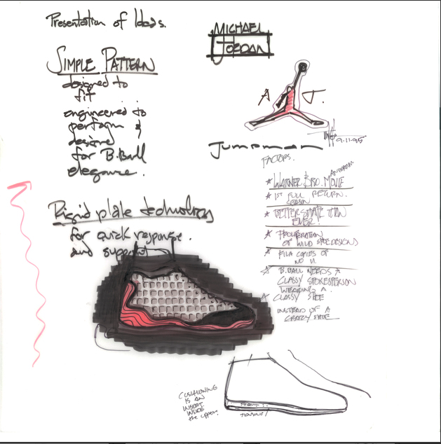 sale retailer 6ac5e b9bec The Air Jordan 13 is back — how Tinker Hatfield and the ...