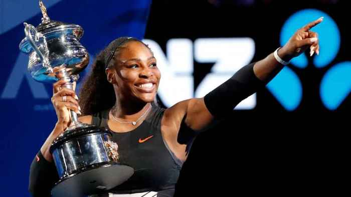 Serena Williams won her seventh Australian Open title and 23rd Grand Slam by besting her sister Venus in Saturday's final.
