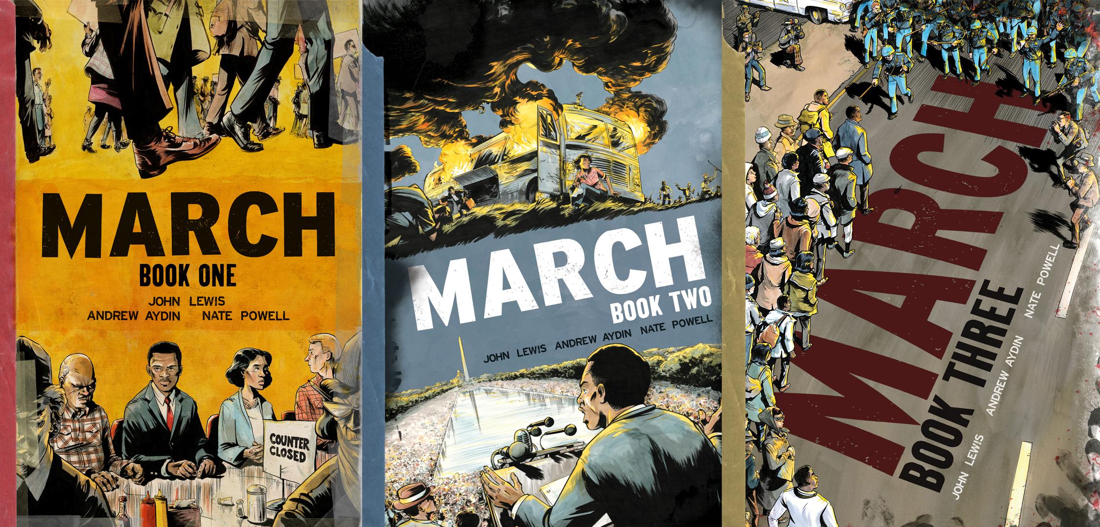 John Lewis March 3 Books