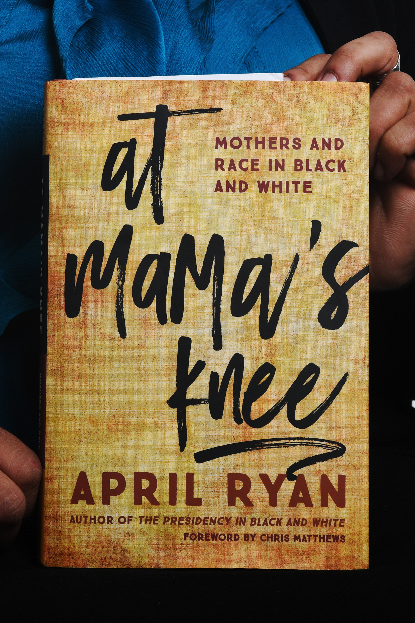 """At Mama's Knee"" is April Ryan's second book that deals with motherhood and race."